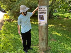Activists Posts a Wanted Ad Exposing NIH Monkey Fright Experiments