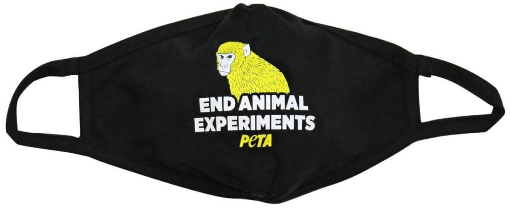 End Animal Experiments face mask